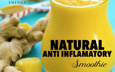 Natural Anti Inflammatory Smoothie